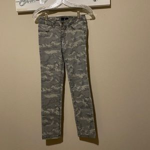 * Cello - juniors faded camouflage jeans